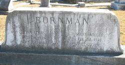 Mary Jane Mammie <i>Miller</i> Bornman