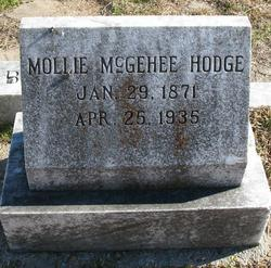 Mollie <i>McGehee</i> Hodge