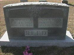Ada Agusta <i>Carter</i> Reed