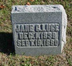 Jane C <i>McVicker</i> Luce