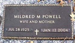 Mildred M Powell