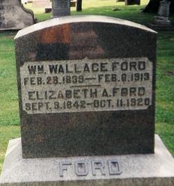 Elizabeth <i>McClure</i> Ford