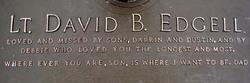 Lieut David B. Edgell