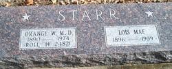 Dr Orange Walter Starr