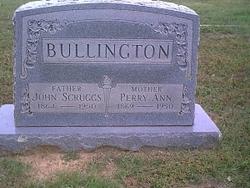 Perry Ann <i>Jones</i> Bullington