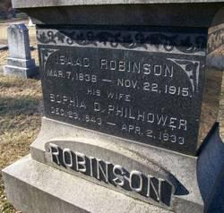 Sophia D. <i>Philhower</i> Robinson