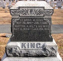 Martha Adaline <i>Hilts</i> King