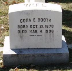 Cora Estelle <i>Mitchell</i> Booth