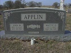 John Marion Applin