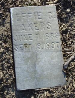 Effie C Akers