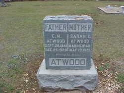 Sarah Catherine <i>Whiteley</i> Atwood
