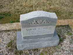 Sarah Elizabeth <i>Lawrence</i> Davis