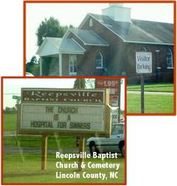Reepsville Baptist Church Cemetery