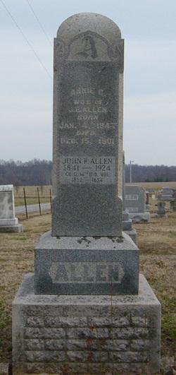 Ann <i>Casad</i> Allen