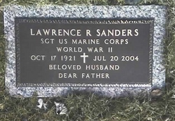 Lawrence Ray Sanders