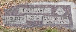 Vernon Lee Ballard