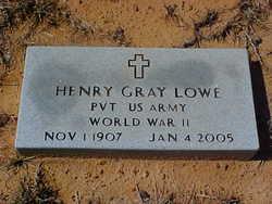 Henry Gray Lowe