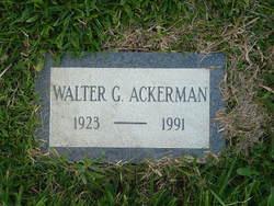 Walter G. Ackerman