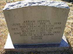 Mary Peach <i>Gilmer</i> Jetton