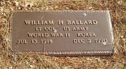 LTC William H Ballard