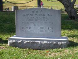 Gen Alonzo Patrick Fox