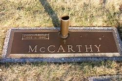 Joseph Priestly J.P. McCarthy