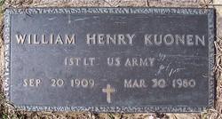 William Henry Kuonen