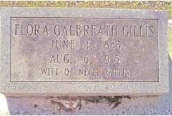 Flora Caroline <i>Galbreath</i> Gillis
