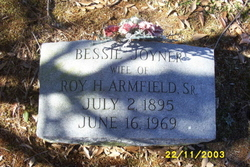 Bessie <i>Joyner</i> Armfield