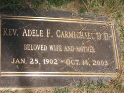 Rev Adele F <i>Boatwright</i> Carmichael