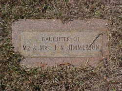 Infant Daughter Jimmerson