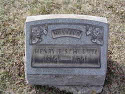 Henry Francis Schuette,