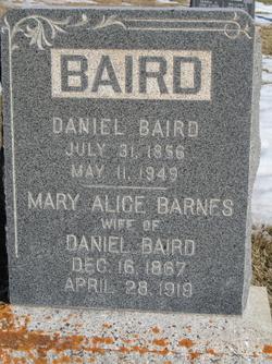 Mary Alice <i>Barnes</i> Baird