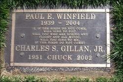 Charles Stanley Chuck Gillan, Jr