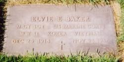 Elvie Eugene Baker