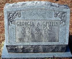 Georgia A Griffin