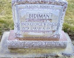 Sarah Ann <i>Proctor</i> Bidiman