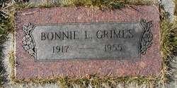 Bonita L Bonnie Grimes