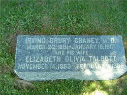 Elizabeth Olivia <i>Talbot</i> Chaney