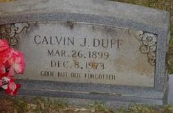 Calvin J Duff
