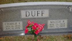 Maggie Ruth Duff
