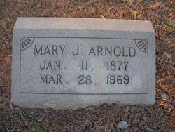 Mary Josephine <i>Smith</i> Arnold