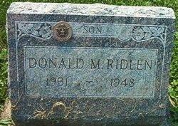 Donald Meredith Ridlen