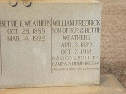 William Fredrick Weathers