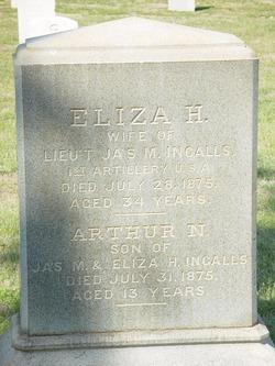 Eliza Hanna Jane <i>Niles</i> Ingalls