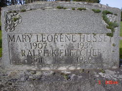 Mary Leorene <i>Fletcher</i> Hussey