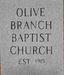 Olive Branch Baptist Cemetery