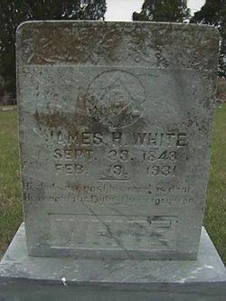 James H White