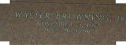 Walter Ira Browning, Jr