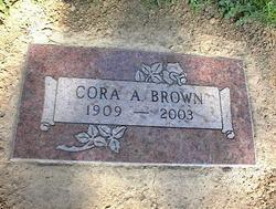 Cora Mae <i>Trimble</i> Brown